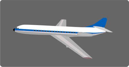 illustation: airplane illustation