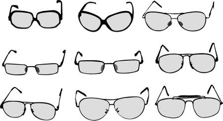 ocular: glasses illustration