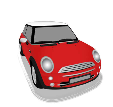 modern car vector illustration
