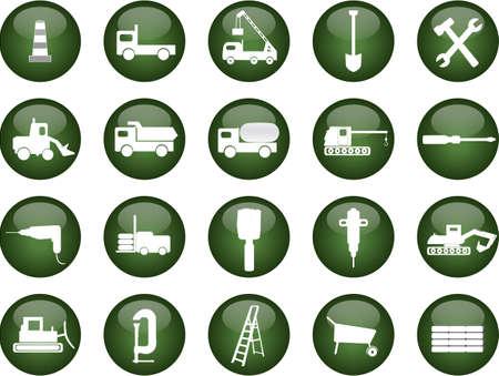 ダンプ: 建設のベクトル図  イラスト・ベクター素材