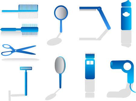 hairdresser illustration Stock Vector - 4368815
