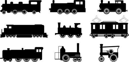 locomotoras: tren ilustraciones