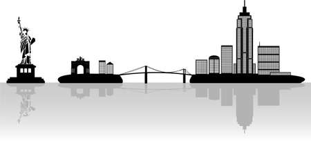 landscaped: New York illustration