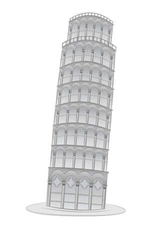 pisa: Leunend toren in Pisa afbeelding