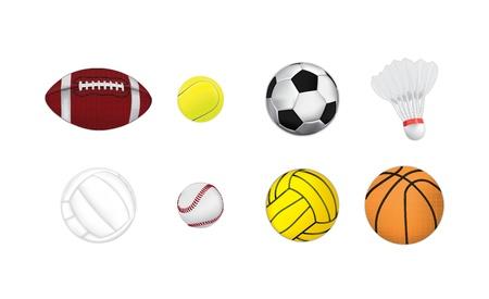 waterpolo: bolas de vectores deporte