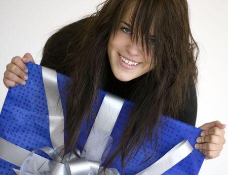 Olga - the best russian girl Stock Photo