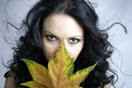 Very sexy autumn Stock Photo - 636229