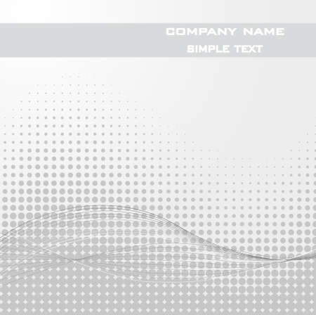 Sample Text - Abstract dots background. Halftone. Illustration