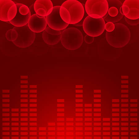 Abstract music chart background. Eps10. Illustration