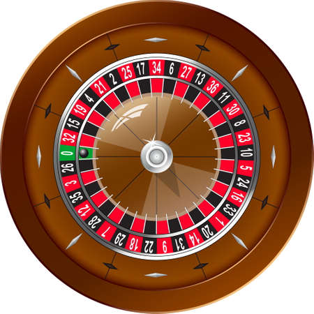 Roulette for online casino Vector