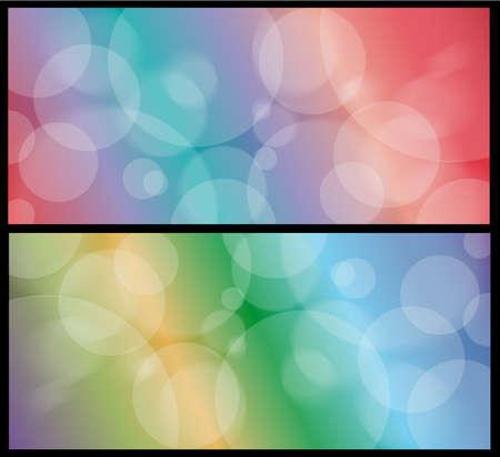 Defocused lights background. Illustration. EPS10 Illustration