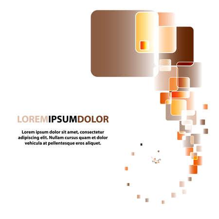 Color lights flow background.  Illustration. EPS10