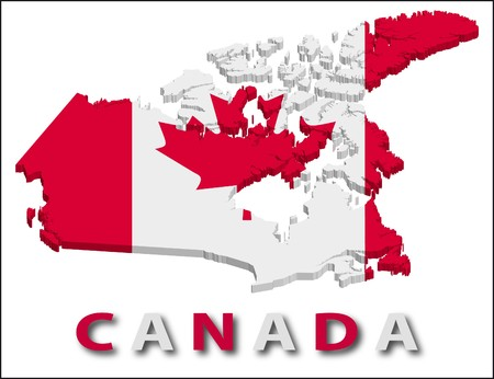 territory: Canada territory with flag texture.