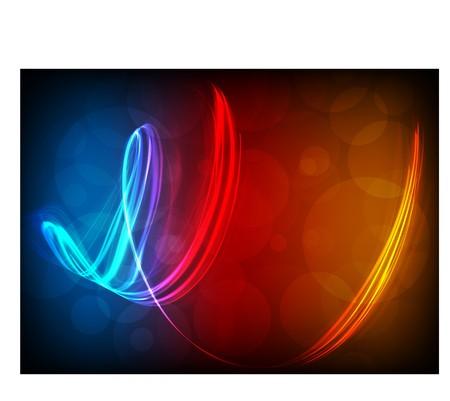 Abstract lights. Illustration