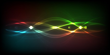 Abstract rainbow - colored  background