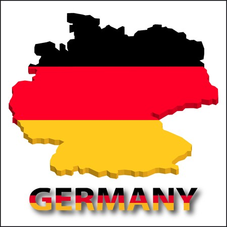 territory: Germany territory with flag texture.