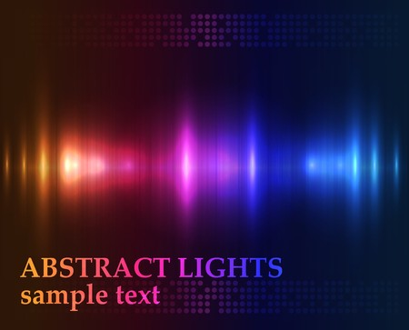 Abstract lights - colored  background
