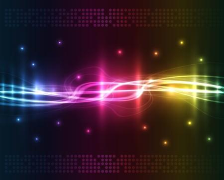 neon wallpaper: Luci astratte - colorata di sfondo