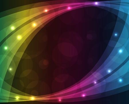 neon party: Luci astratte - colorata di sfondo