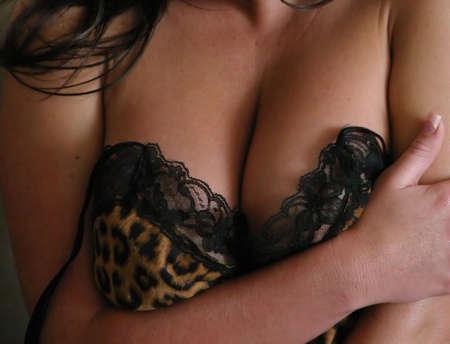 cleavage: Model showing cleavage