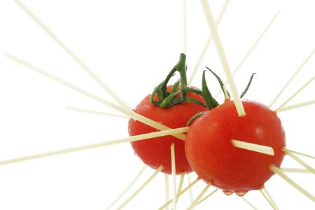Pasta and Tomatoes Stock Photo - 318867