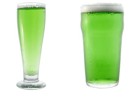 Green Beer for St Patricks Day photo