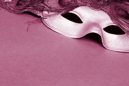 Sepia carnival mask photo