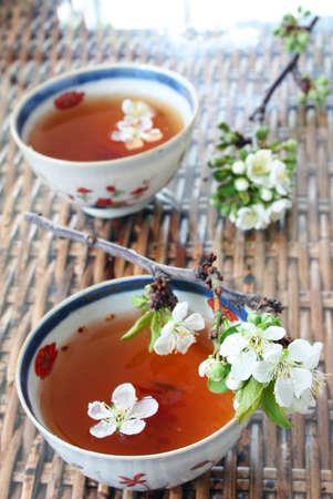 assam tea: Chinese Tea Stock Photo