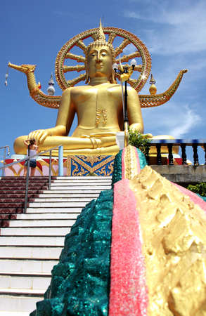 ko: Big Buddha on Ko Samui , Thailand