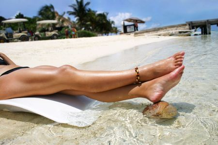 spar: Tropical legs Stock Photo