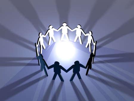 metaphorical: Power of Teamwork 1