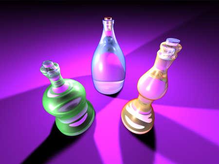 gaudy: Gaudy Bottles 1