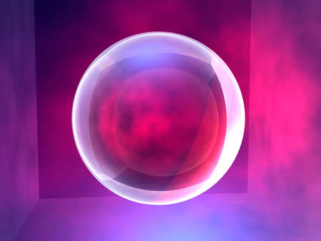 raytrace: Spheric 4 Stock Photo