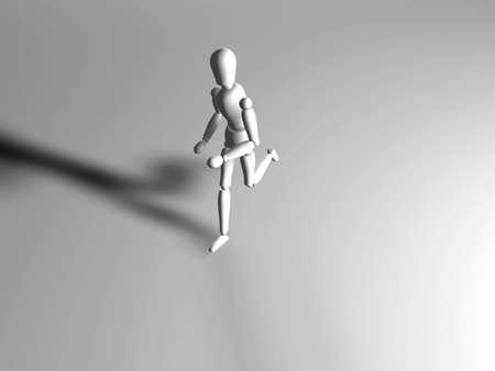 walk away: Running