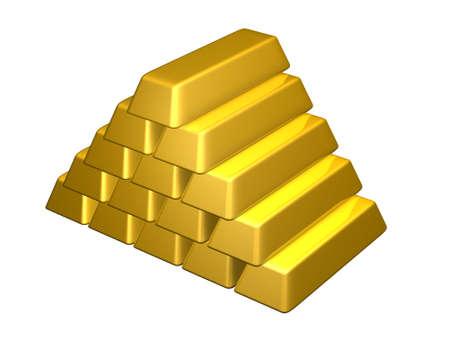 goldbars: Gold Bars Pyramid