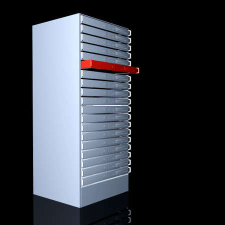 stack of files: Your dedicated Server