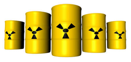 Radioactive Barrels Stock Photo - 777980