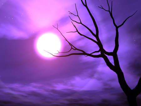 horror background: Nightshade