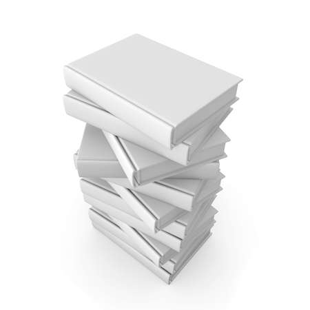 stack of files: Stack of Books