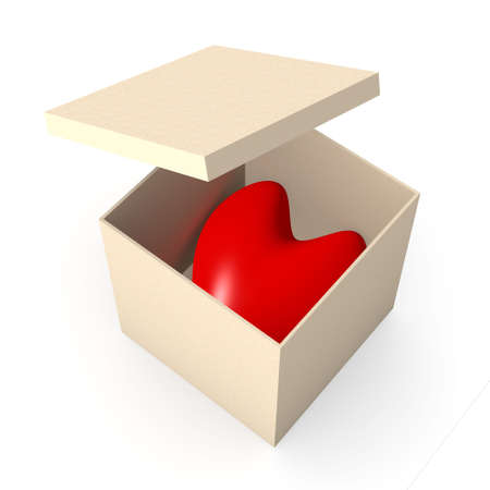 Heart in a box Stock Photo - 926888