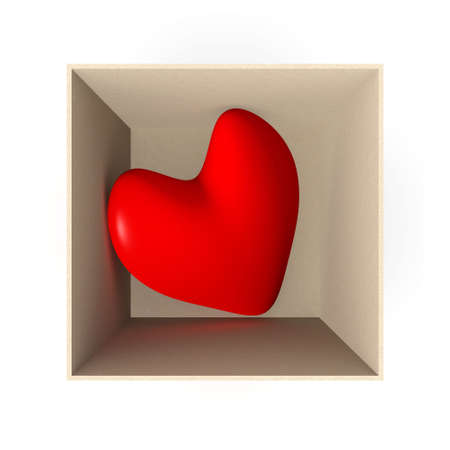Heart in a box Stock Photo - 926889