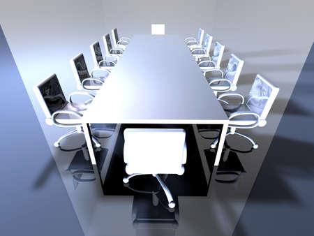 cold room: Metal Meeting Room