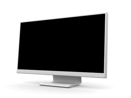 blue widescreen widescreen: Display Stock Photo
