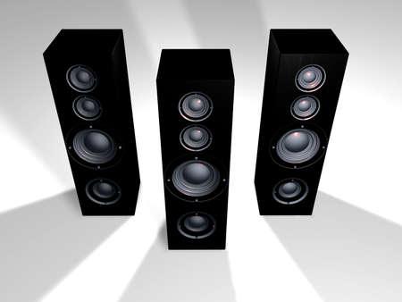 Speakers   Stock Photo - 1132500