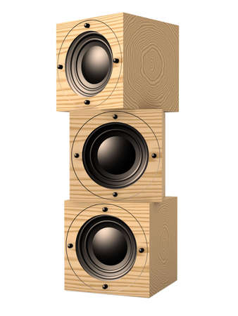 Cubic Speaker Stock Photo - 1132504