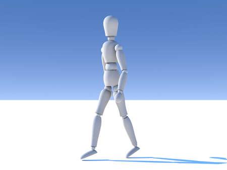 walk away: Walking away