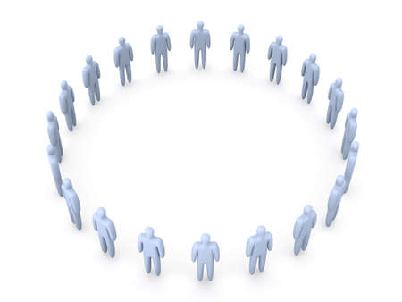 congregation: Standing in a Circle