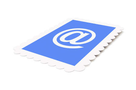 Email Postage stamp Stock Photo - 1150527
