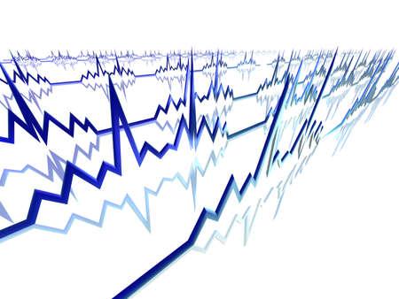 tachycardia: EKG Lines