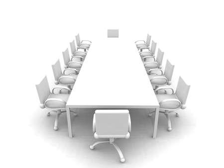 White Meeting room Stock Photo - 1350062